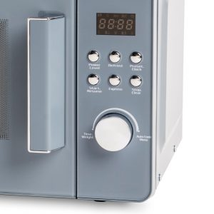 Haden Perth 186690 20L Slate Grey 800W Freestanding Microwave Oven
