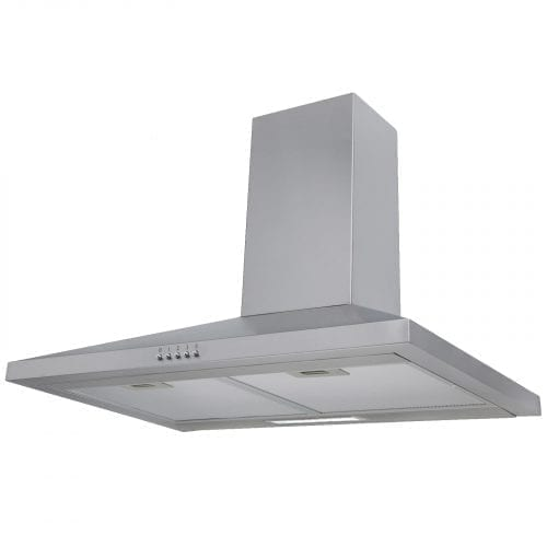 SIA CHL60SS 60cm Chimney Cooker Hood Kitchen Extractor Fan In Stainless Steel