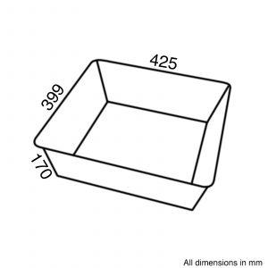 Reginox CWB10 Universal Wire Basket For RL304CW | RL404CB 1.0 Bowl Ceramic Sinks