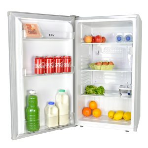 SIA LFS01SV Silver Free Standing Under Counter Larder Fridge A+ Energy Rating