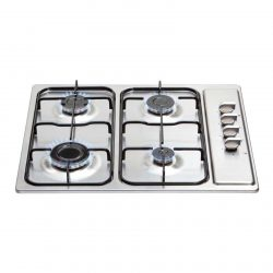 Matrix MHG100SS 60cm 4 Burner Stainless Steel Gas Hob Includes FFD & LPG Kit