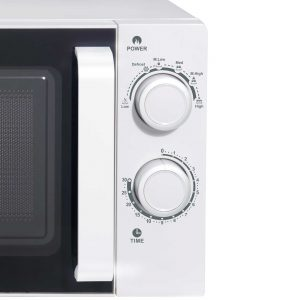 Haden Chester 193926 20L White 700W Freestanding Microwave Oven