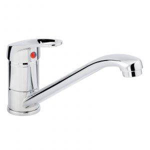 Franke Gemini 1.0 Bowl Black Kitchen Sink And Clearwater Creta Chrome Mixer Tap