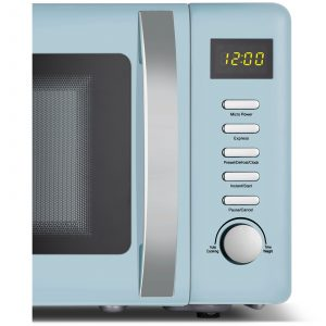 Beko MOC20200M 20L Blue 800W Freestanding Retro Compact Microwave Oven