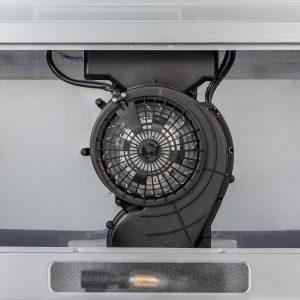SIA VSR60SS 60cm Stainless Steel Visor Cooker Hood Extractor Fan & Carbon Filter