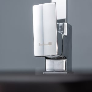 Reginox EASY325 1.5 Bowl White Granite Kitchen Sink & Astoria U-Shaped Mixer Tap