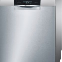Bosch SMS88TI26E 60cm Silver 13 Place Freestanding Dishwasher With Home Connect