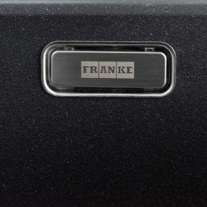 Franke Aveta 1.0 Bowl Black Tectonite Reversible Kitchen Sink & Basket Waste Kit