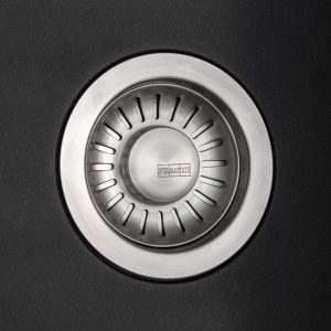 Franke Sirius SID611BL 1.0 Bowl Black Tectonite Reversible Kitchen Sink & Waste
