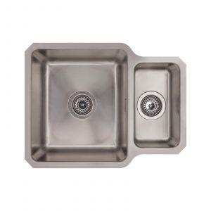 SIA 1.0 Bowl Undermount Stainless Steel Kitchen Sink With Waste Kit W530xD450mm