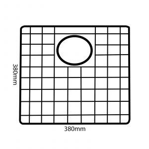 Reginox R3004 Gun Metal Grey Bottom Grid Accessory For MIAMI40X40 GUNMETAL Sinks