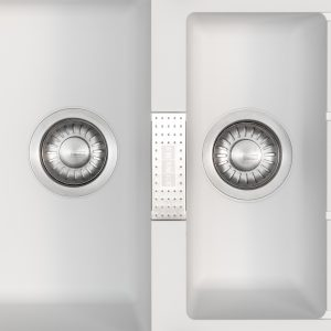 Franke Sirius SID651WH 1.5 Bowl White Tectonite Reversible Kitchen Sink & Waste