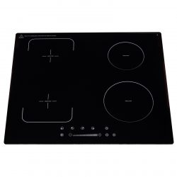 SIA INDH62BL 60cm Black 4 Zone Flexi-Bridge Touch Control Electric Induction Hob