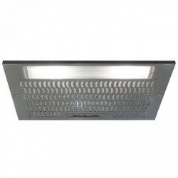 CDA CCA51SI Silver 50cm Under Canopy 2 Speed Cooker Hood Kitchen Extractor Fan
