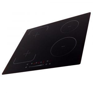 SIA 60cm Single Fan Oven, 4 Zone Flexi-Bridge Induction Hob And Cooker Hood Fan