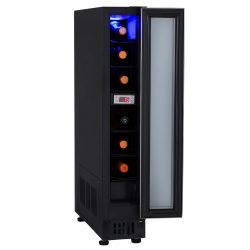 Unbranded 15cm / 150mm Stainless Steel Under Counter 6 Wine Cooler Chiller