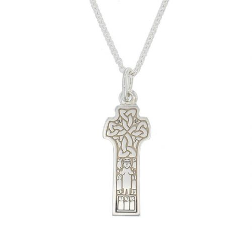 Donagh, Carndonagh, Donegal, sterling silver, Irish high cross, Inishowen, celtic cross, ancient, monastery, St, Patrick, pendant, men's, ladies, heritage, historical, intricate carving, Christian, Faller, medieval, Tree of Life, braid, 7th century