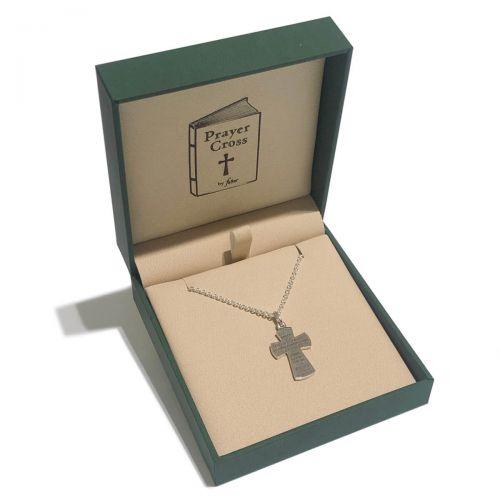serenity prayer cross pendant box