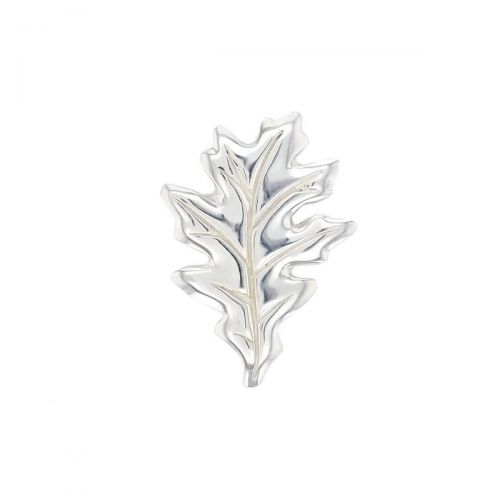 Faller Oakleaf, Derry, Londonderry, Northern Ireland, oak wood, acorn, angel, leaf, St Columba, St. Comcille, christian, heritage, historical, sterling silver lapel pin