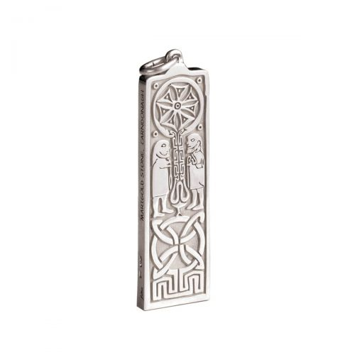 Faller Marigold pillar stone, Carndonagh, Inishowen, Co. Donegal, celtic, ancient, monastery, St, Patrick, pendant, ladies, heritage, historical, intricate carving, Christian, Faller, medieval, pilgrimage. St. Columba, 18ct yellow gold