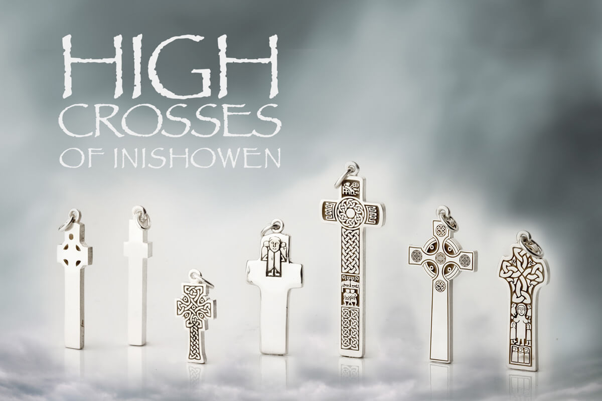Inishowen High Crosses Jewellery Collection
