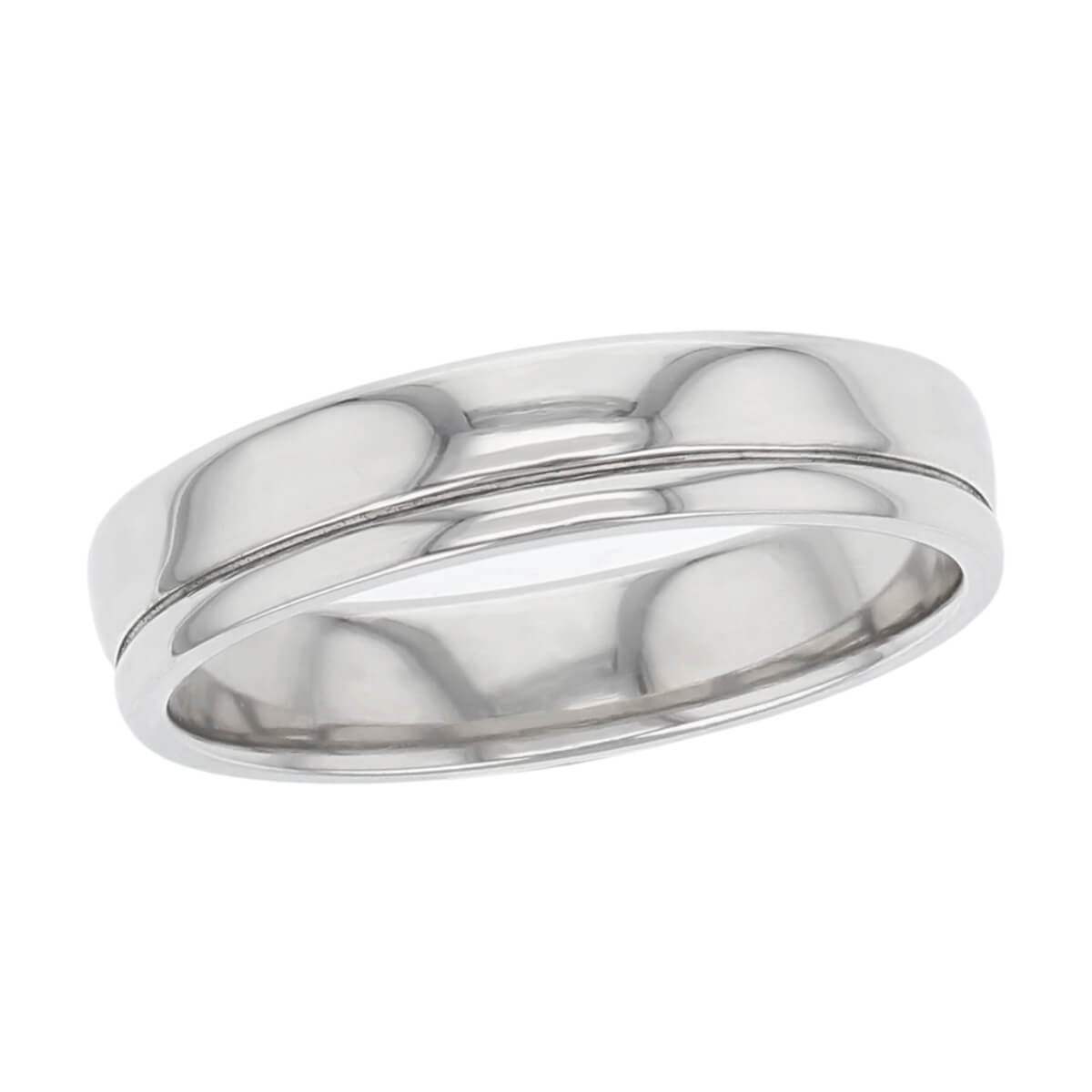 off centre groove wedding ring pattern, men's, gents