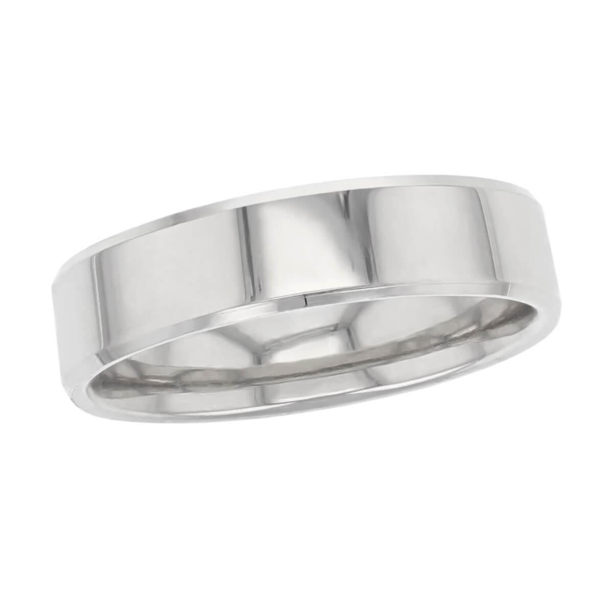 polished beveled wedding ring pattern, men's, gents, made by faller