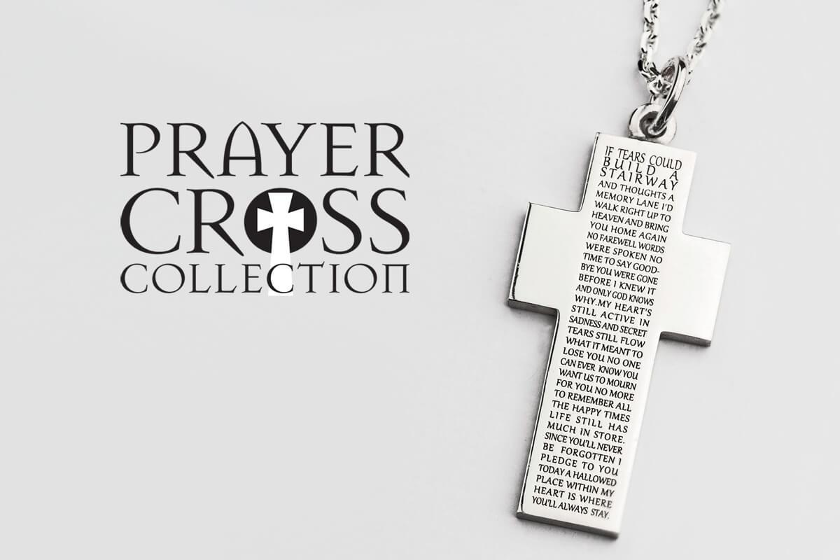 Prayer Cross Pendant Collection