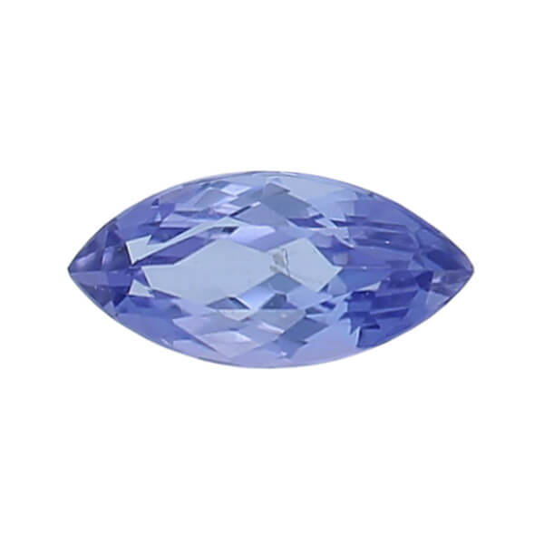 tanzanite gem, purple, loose gemstone, unset stone, marquise shape, faceted