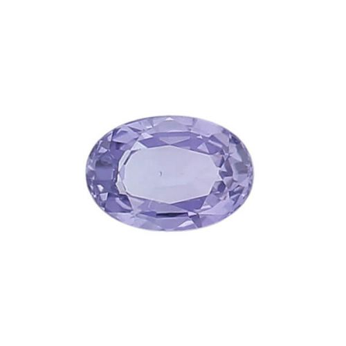sapphire gem, purple, loose gemstone, unset stone, oval shape, faceted