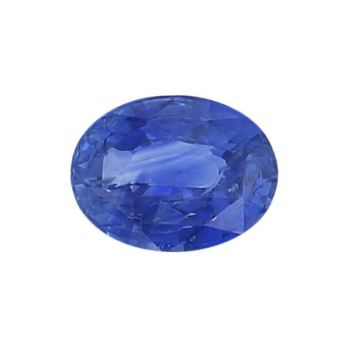 sapphire gem, blue, loose gemstone, unset stone, oval shape, faceted