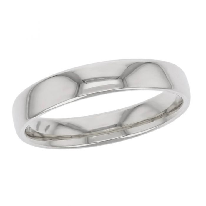 4.5mm wide platinum men's wedding ring, gents, bridal, plain, personalised engraving, court profile, comfort fit, add pattern, marraige ring, precious jewellery by Faller of Derry/ Londonderry, jewelry