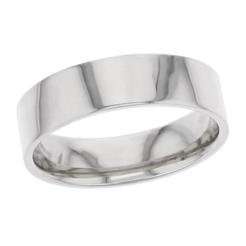 6mm wide platinum men's wedding ring, gents, bridal, plain, personalised engraving, flat profile, comfort fit, add pattern, marraige ring, precious jewellery by Faller of Derry/ Londonderry, jewelry