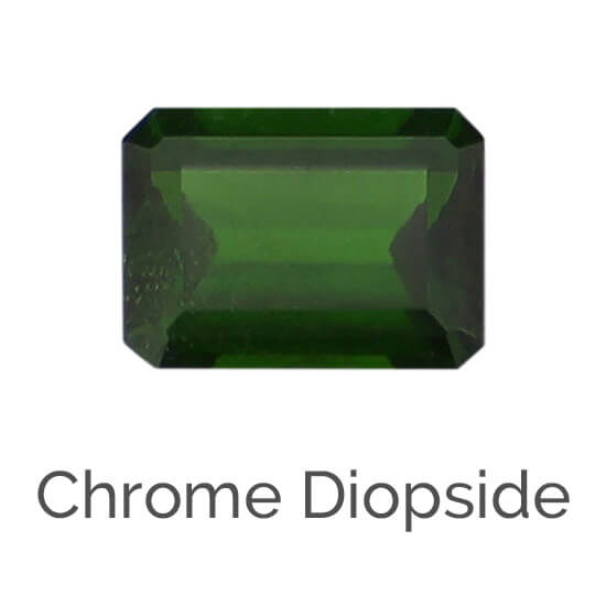facts about chrome diopside gemstone, green gem