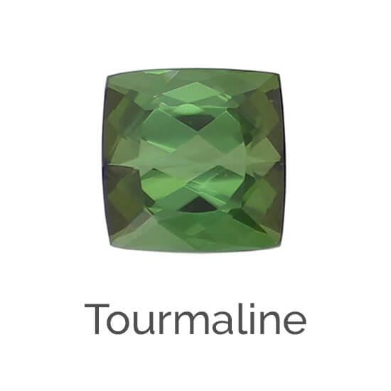 facts about tourmaline gemstone, green, blue, pink, red, brown gem