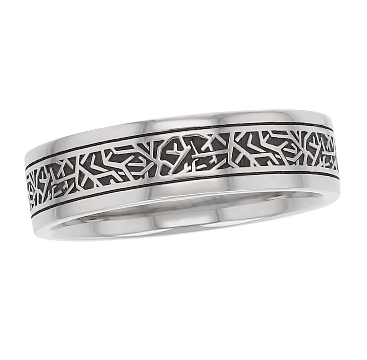 continuous twig wedding ring pattern, men's, gents, men's gifts, mens gifts