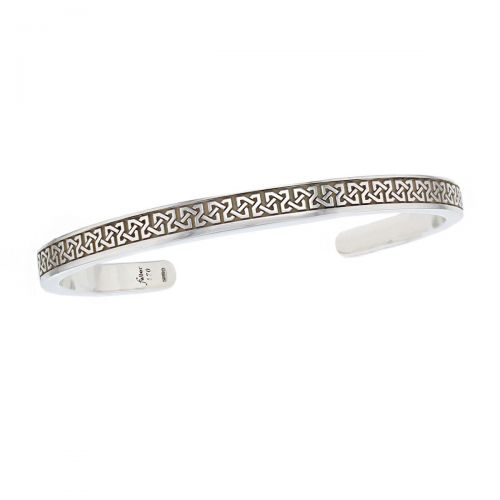 Faller solid sterling silver torc bangle, torque, torq, men's jewellery, celtic pattern, wrist wear, personalised engraving, handmade, designer, torq, torque