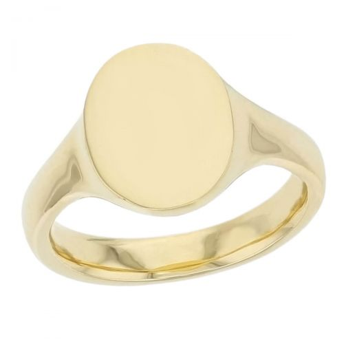 Oval men's solid 18ct yellow gold signet dress ring designed & hand crafted by Faller of Derry/ Londonderry, personalised engraving, plain, non stone, precious jewellery, jewelry for men,men's jewellery, mens jewellery