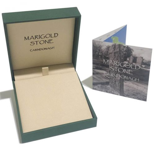 Marigold stone collection packaging, pendant box