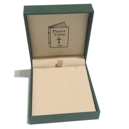 prayer cross oendant box, pendant packaging