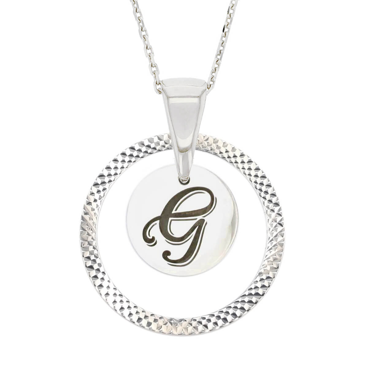 Faller Kryptos necklace, silver jewellery, message pendant, personalised engraving, make your own, jewellery, gift, celebration, symbol, claddagh, love, loyalty, friendship, silver necklace, birthday gifts, Christmas gifts, Mother's day gifts, initial jewellery
