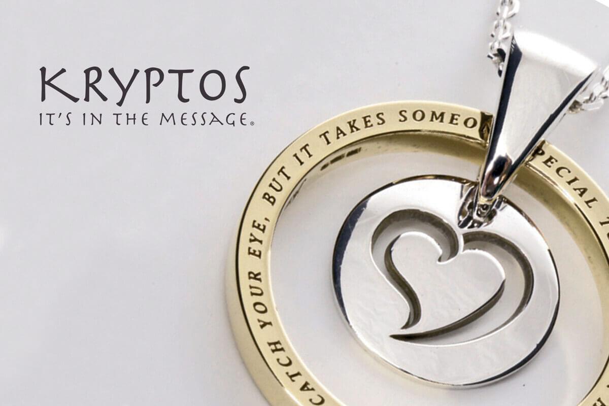 Kryptos Message Pendant Collection