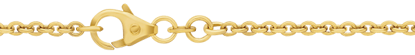 18ct Gold Cable Chain - medium weight - 2.0mm width