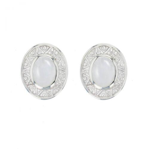 Miosach jewellery, silver earrings, irish designer jewellery, medieval jewellery, gem, jewelry, handmade by Faller, Londonderry, Northern Ireland, Irish hand crafted, moonstone jewelry,