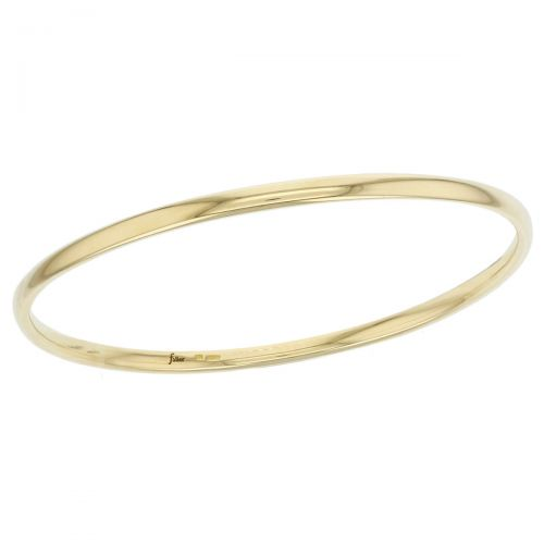 solid 18ct yellow gold ladies bangle designer, handmade by Faller, hand crafted, precious jewellery, jewelry, hand crafted wristwear, custom made