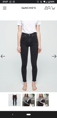 Image of Armed Angels Ingaa skinny jeans size 31/34