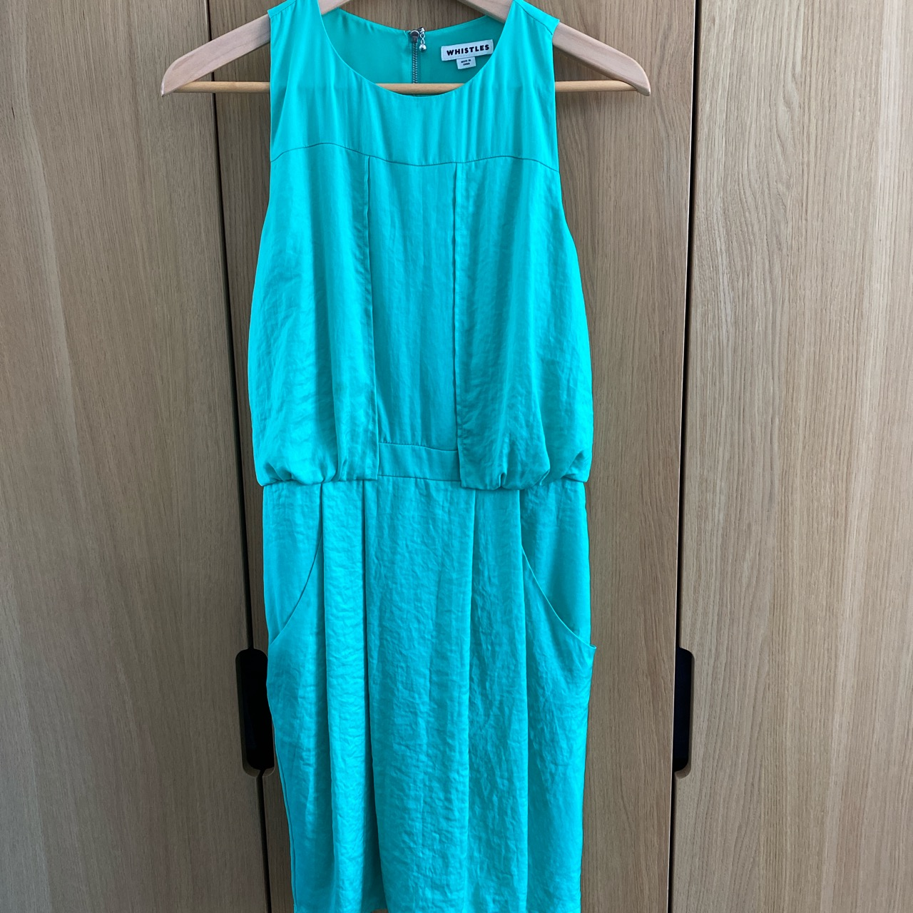 Image of Whistles  Mint green dress