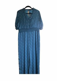 Image of M&S Blue jumpsuit
