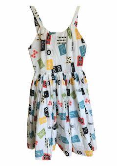 Image of Trashy Diva Annette dress in Mahjong print