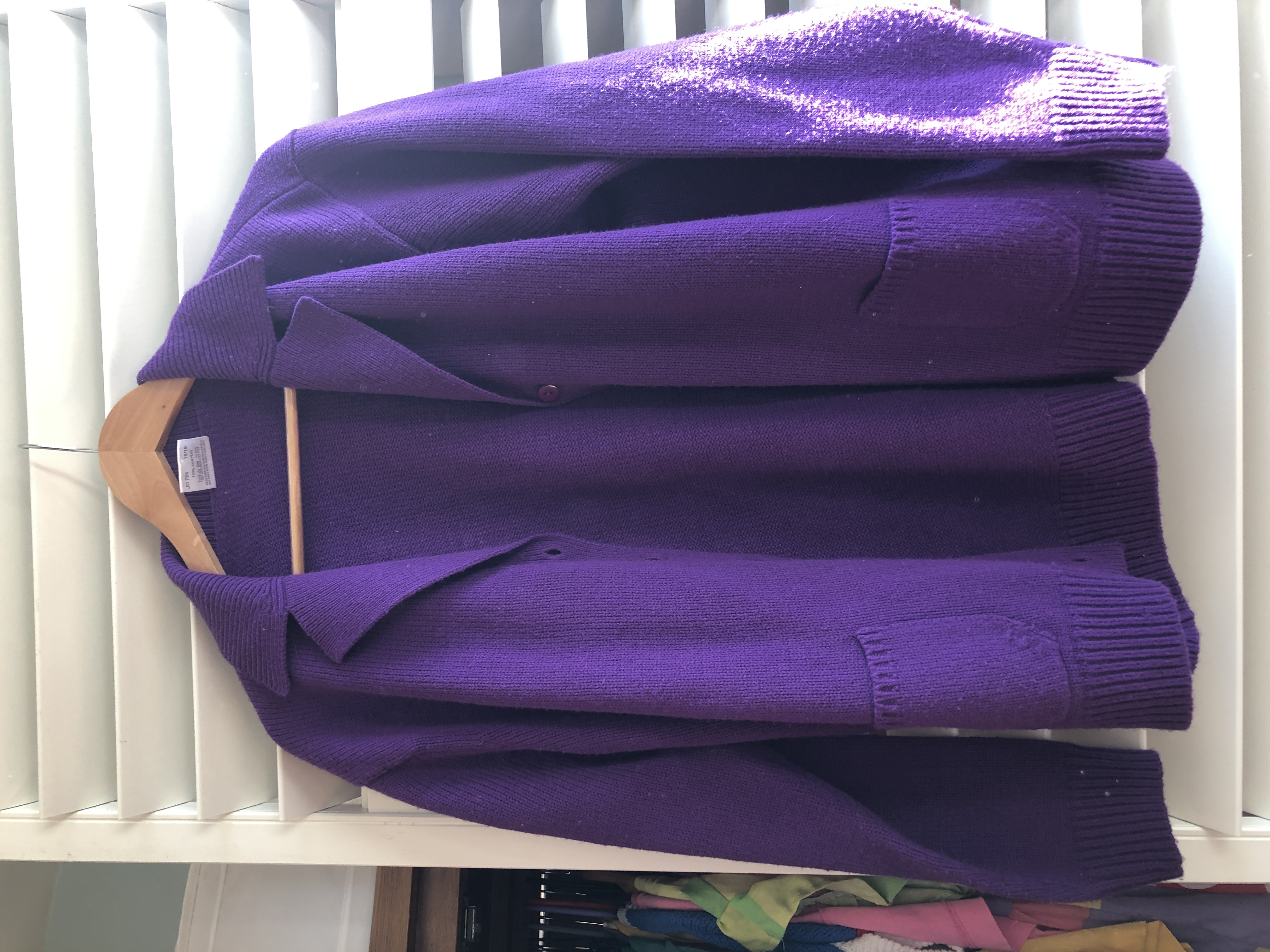 Image of Other Purple cardigan
